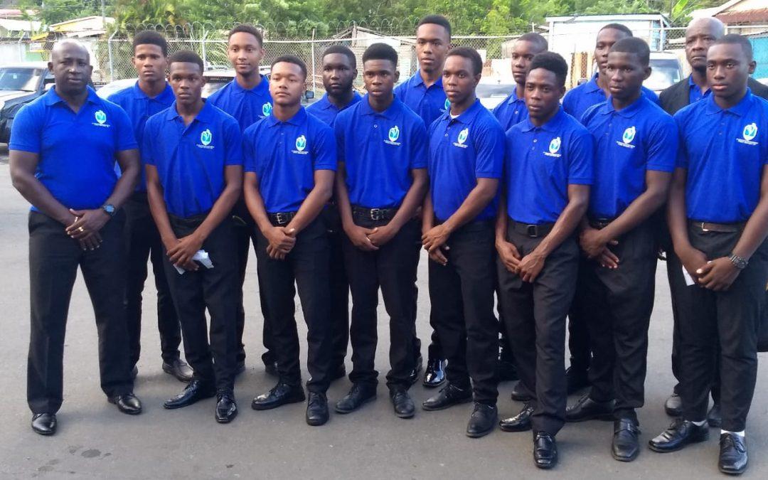 SVG U19 Team 2019 to Dominica